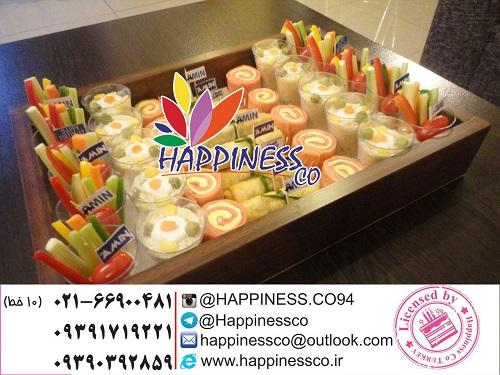 منوی غذای کودک - َشرکت Happiness co مجری انحصاری تولد کودک