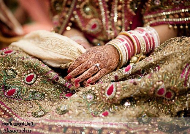 عکسهای جذاب از زیباترین عروسهای هندی