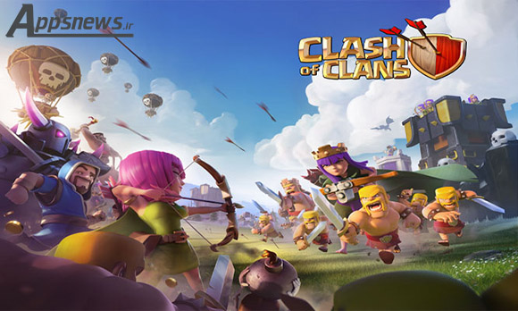دانلود بازی Clash of Clans 8.332.2 برای اندروید