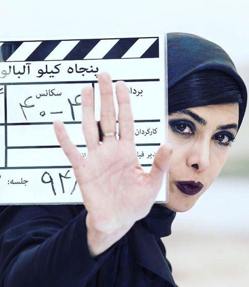 آزاده صمدی با چهره خاص در فیلم جدیدش +عکس , اخبار سینما