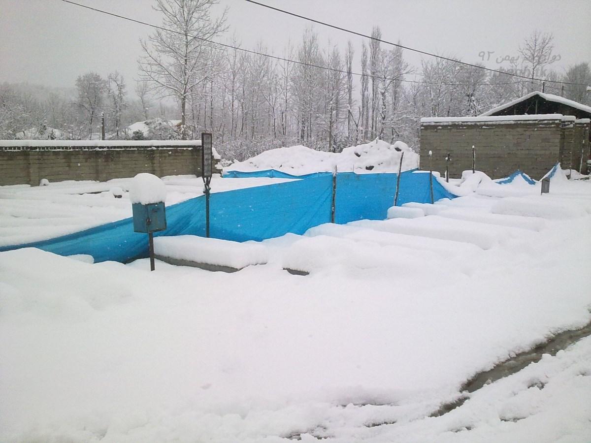 barf darbagh ir 12 23  برف دارباغ 12 بهمن 92