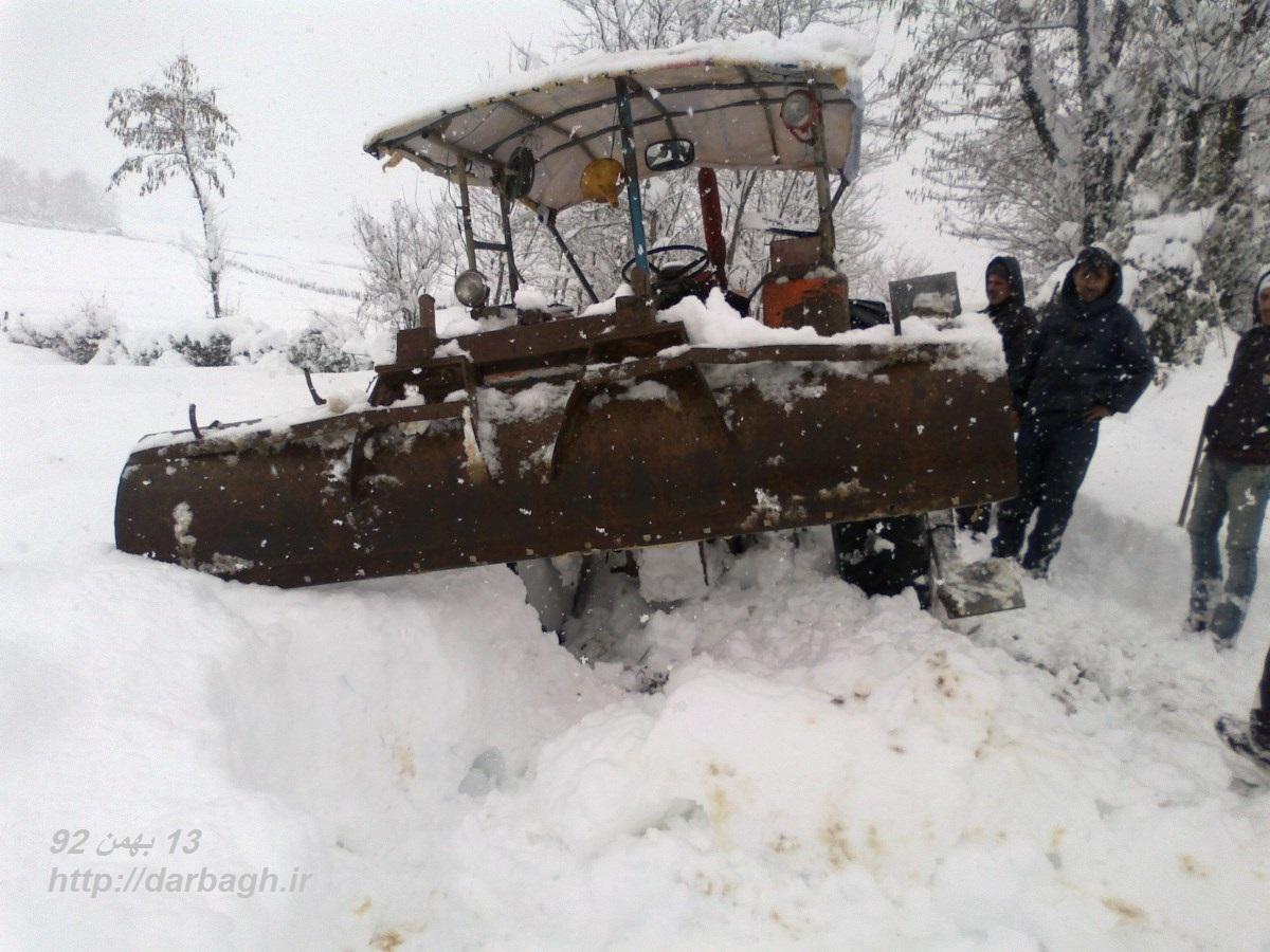 barf darbagh ir13 11 92 عکسهای برف دارباغ 13 بهمن 92