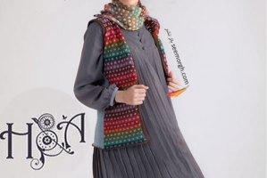 مدل مانتو زمستانی برند هدا اکبری H&A , مدل لباس