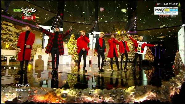 KBS Music Bank Christmas Special - Interview + Confession Song