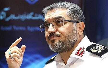 مرگ يک مأمور انتظامی به خاطر آلودگی هوای تهران , حوادث
