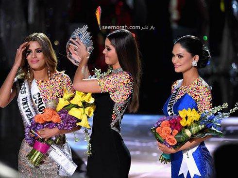 دختر شایسته 2015 Miss universe انتخاب شد , جالب و خواندنی