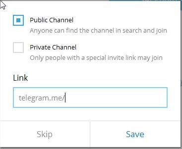 آموزش ساخت کانال تلگرام