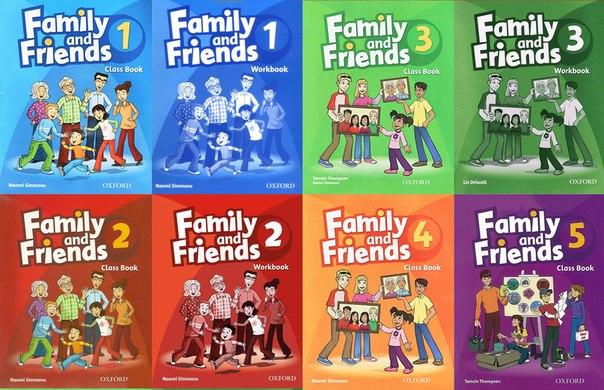 کتاب family and friends
