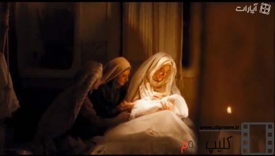 صحنه به دنیا آمدن حضرت محمد (ص)