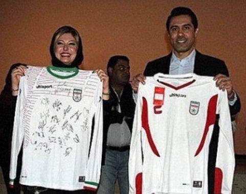 عکس افشین پیروانی در کنار نیوشا ضیغمی , عکس بازیگران