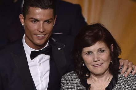 کادوی گرانقیمت رونالدو  به مادرش +عکس , اخبار ورزشی