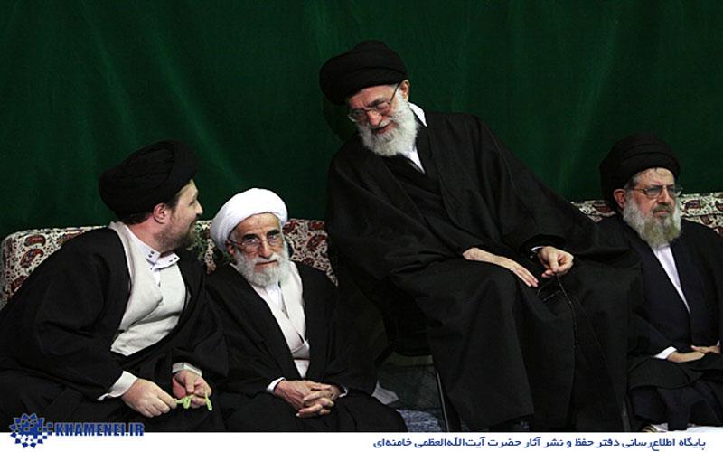 سید حسن خمینی خطاب به آقا : ردای رهبری را به بیت امام برگردانید