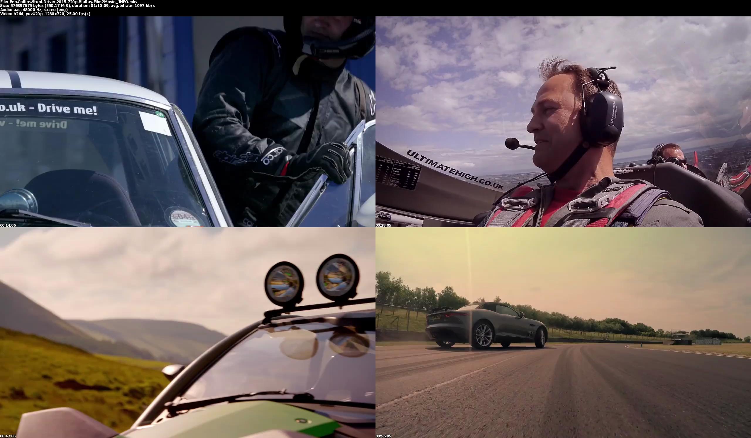 دانلود فیلم ben collins stunt driver 2015 دوبله فارسی