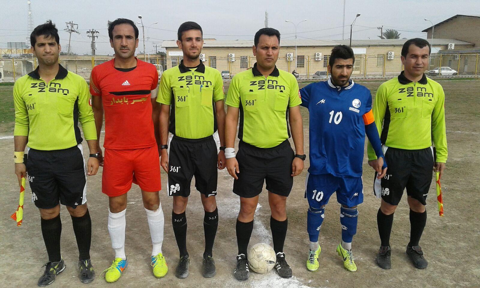 نتایج هفته سوم  مسابقات فوتبال لیگ برتر بزرگسالان باشگاهی خوزستان به همراه جدول رده بندی