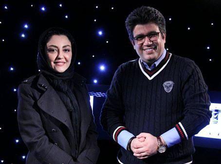 گفتگو با شقایق فراهانی در برنامه دید در شب , مصاحبه بازیگران