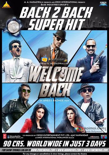 دانلود فیلم Welcome Back