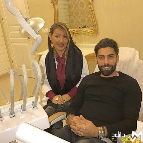 عکسهای جنجالی دکتر رها رادفر و بازیگران مرد در مطب دندانپزشکی