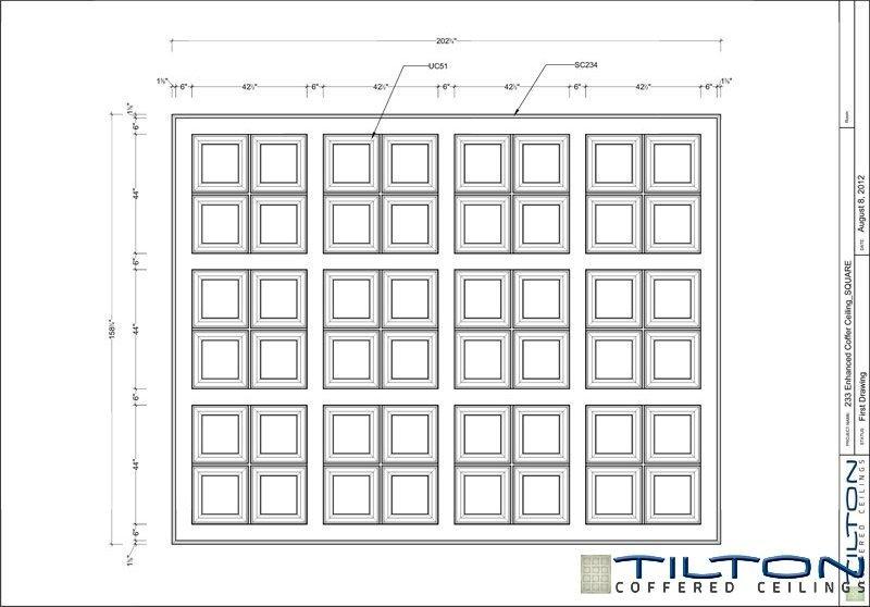 نقشه مناف سقف کلاسیک4