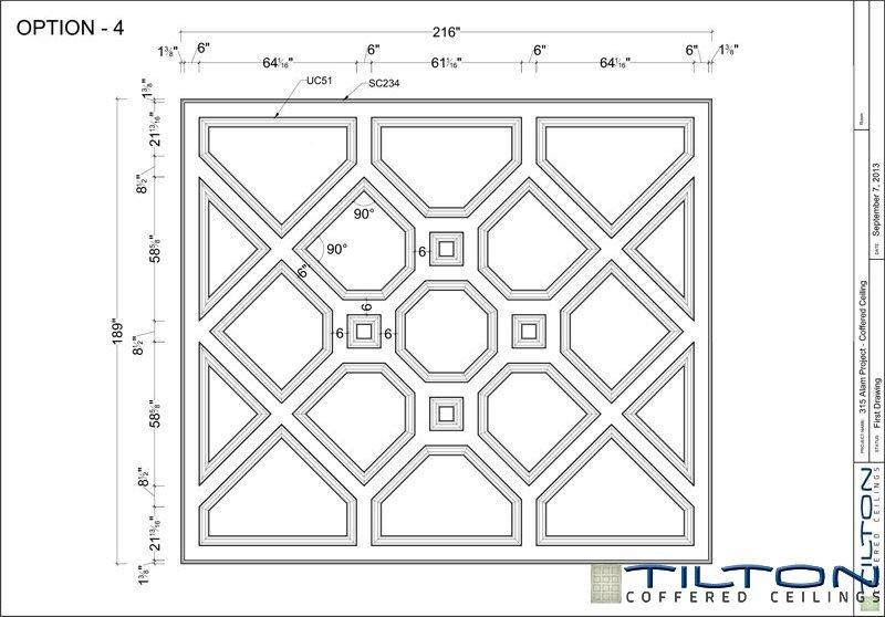 نقشه مناف سقف کلاسیک9