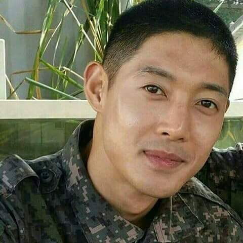 New Photo of Kim Hyun Joong in army clothes - 2017.01.20