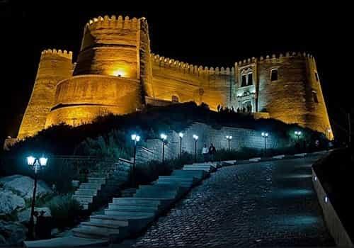 قلعه فلک الافلاک یا دژ شاهپور خواست