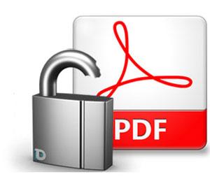 حذف رمز فایلهای PDF با کروم