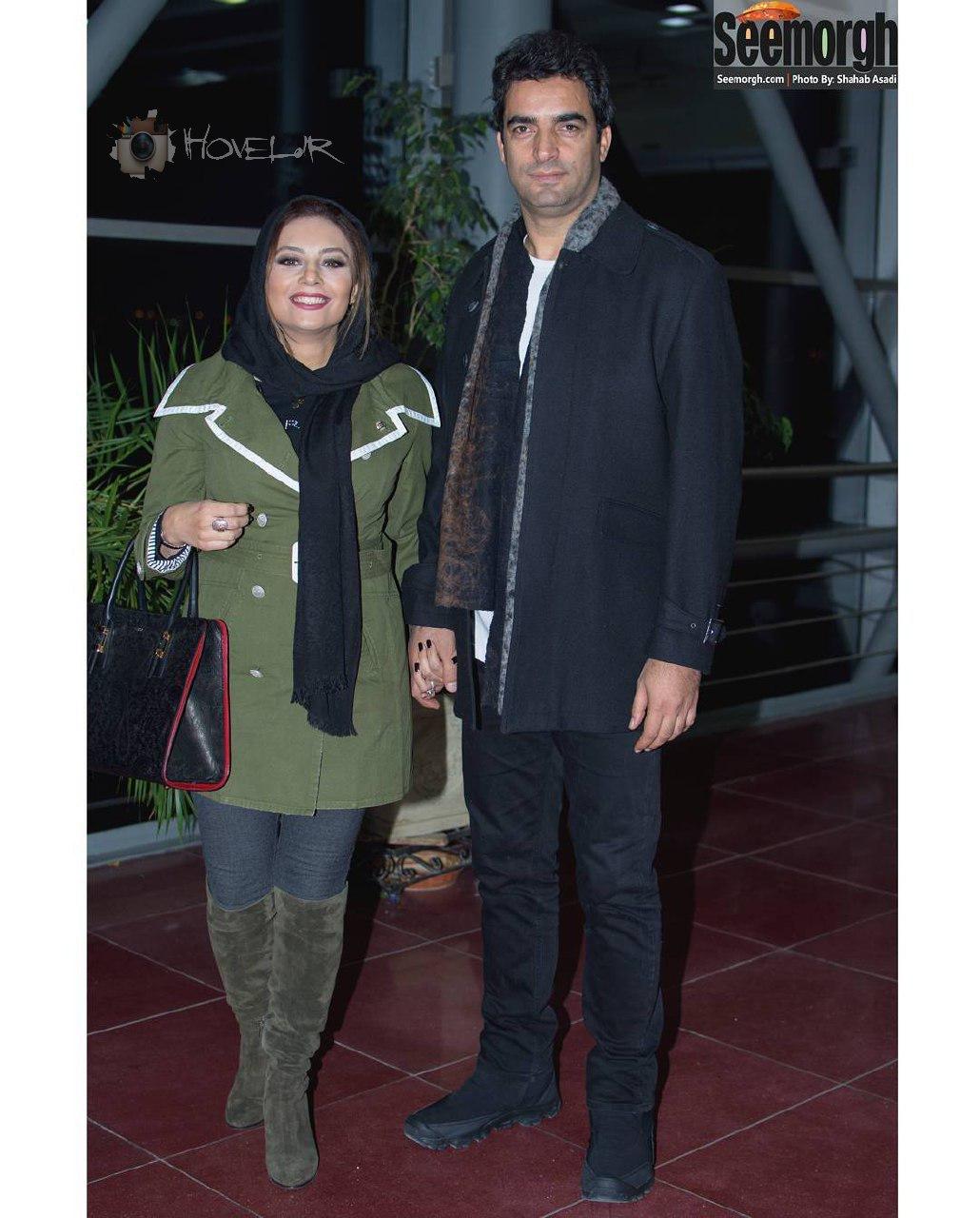 مجموعه تمام عکسهای یکتا ناصر و همسرش در 35 اُمین جشنواره فیلم فجر