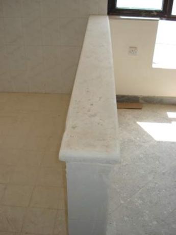 استفاده از سنگ اوپن آشپزخانه با عرض کم