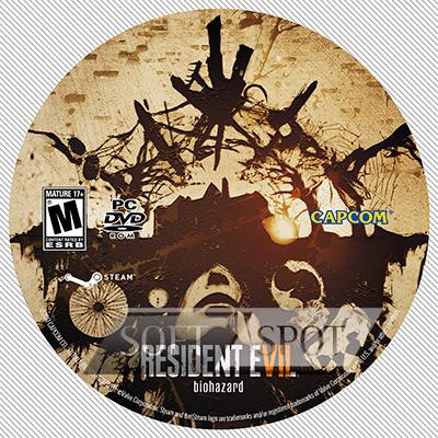 لیبل دیسک Resident Evil 7