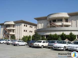 پروژه پاورپوینت نقد و بررسی بیمارستان آیت الله روحانی-بابل