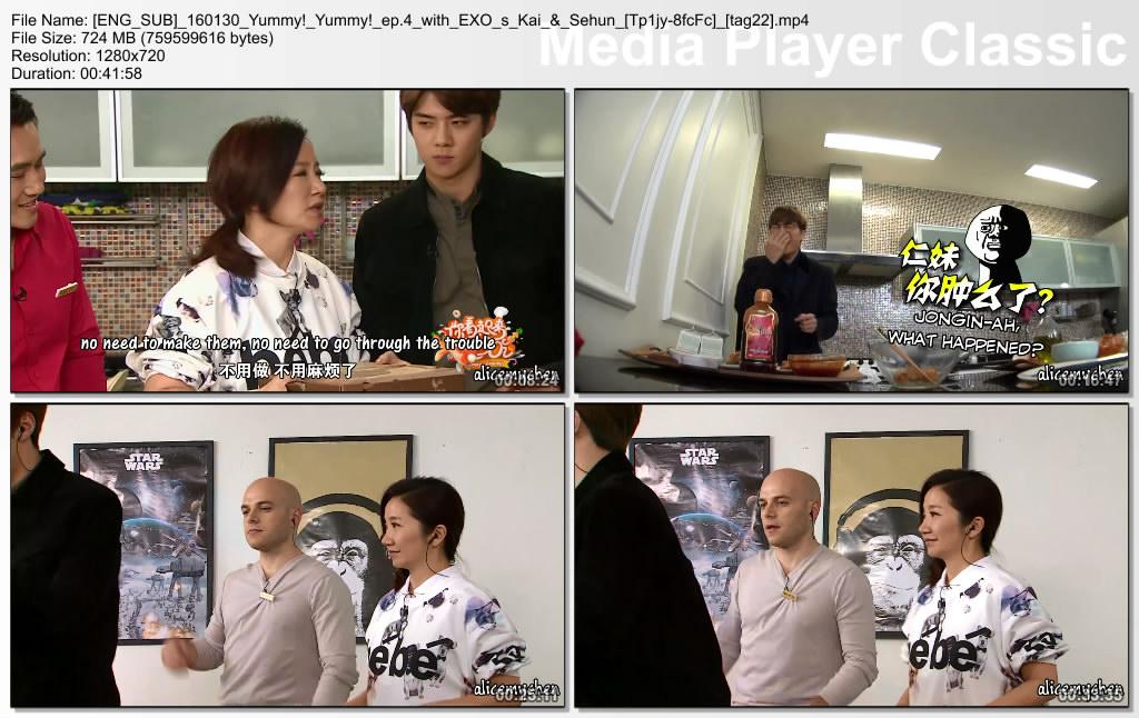 Baekhyun & Luhan Iranian Fan Club - Yummy Yummy EP3 & 4 Kai Sehun