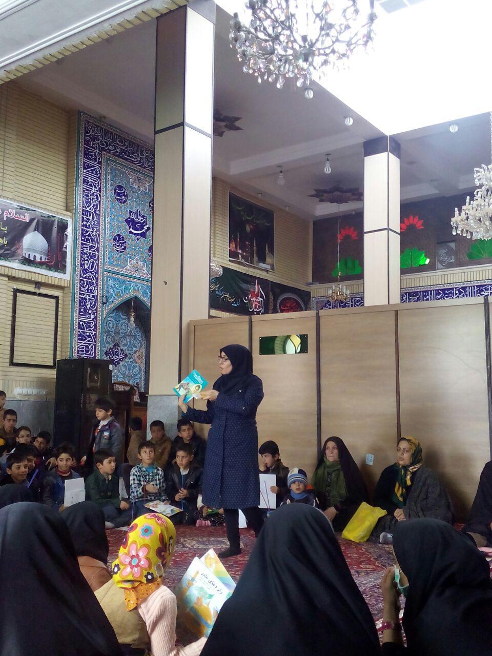 قصه گویی در کتابخانه های عمومی شهرستان خدابنده