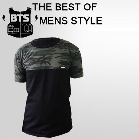 تیشرت ارتشی مردانه بی.تی.اس B.T.S