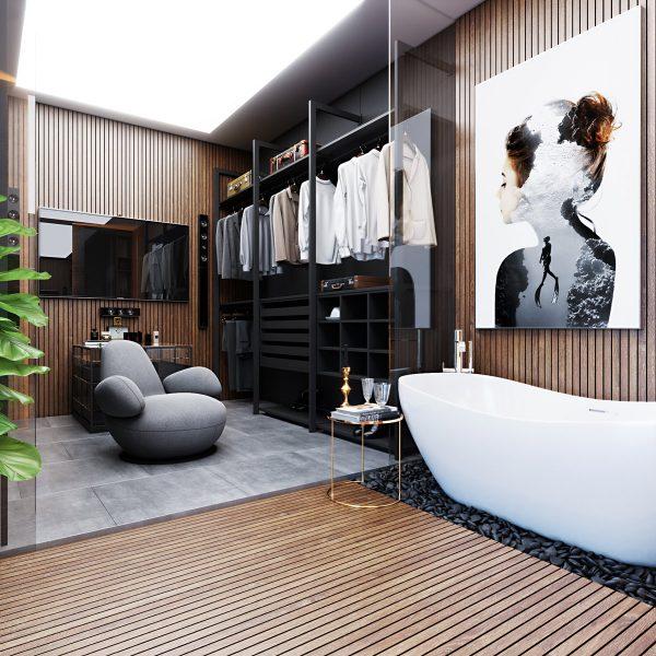 طراحی حمام5