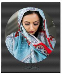 عکس های جدید نفیسه روشن در تبلیغات  شال