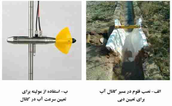 وسایل کمک آبیاری در مزرعه