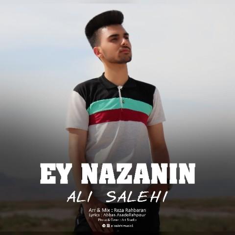دانلود آهنگ جدید علی صالحی به نام ای نازنین