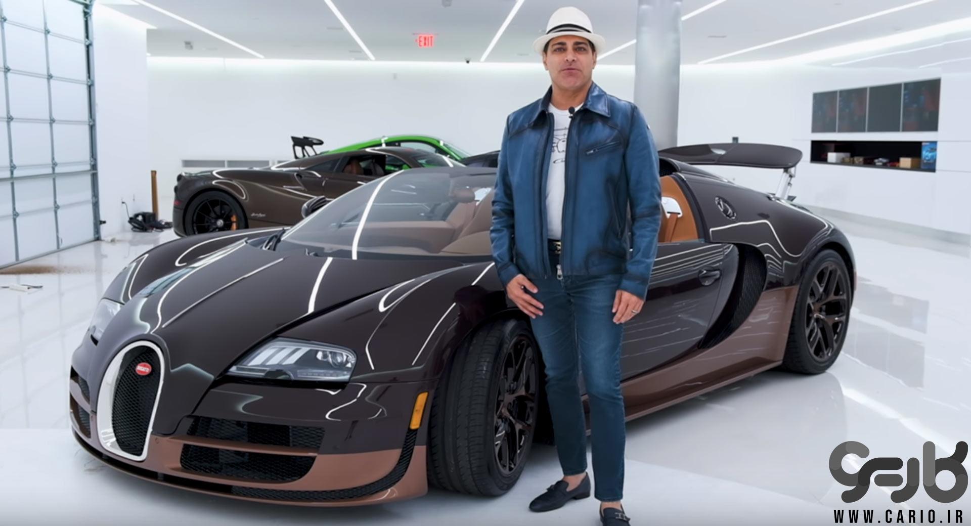 Bugatti Veyron Rembrandt بوگاتی ویرون رمبراندت مانی خوشبین