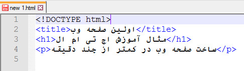 کدهای اختیاری اچ تی ام ال