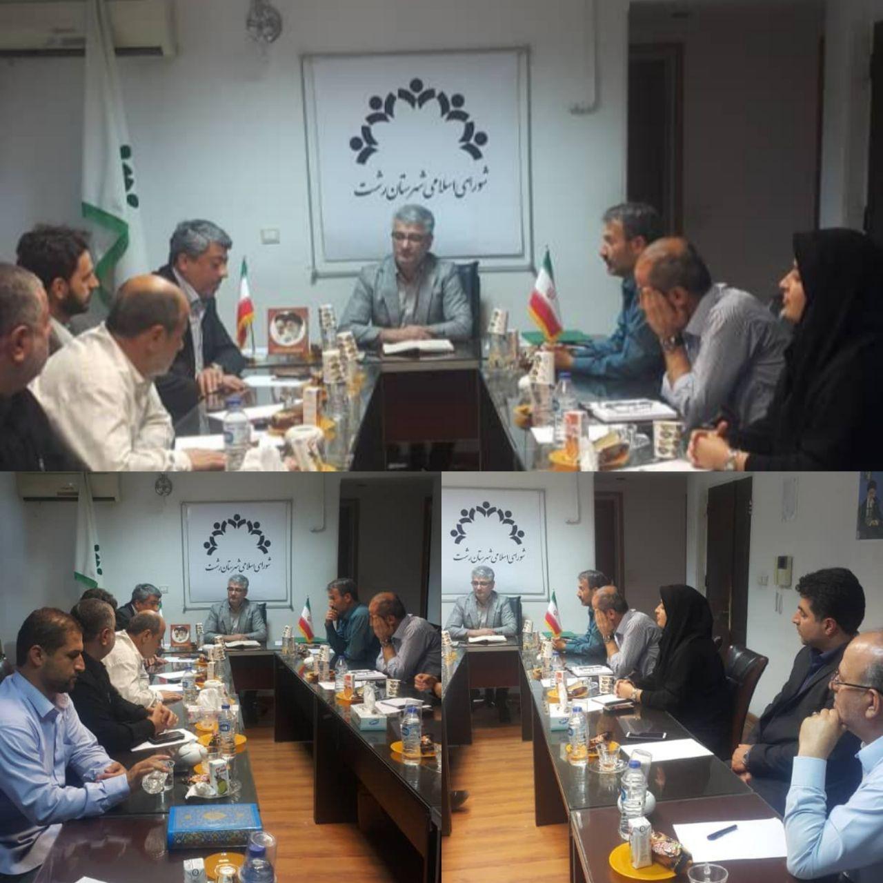 سلب عضویت حامد عبدالهی و حجت جذب از شورای شهرستان رشت