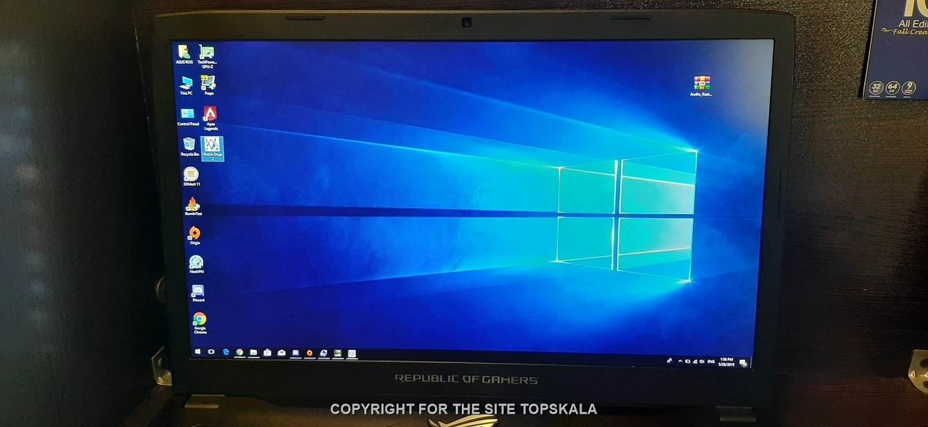 لپ تاپ استوک ایسوس مدل GL702VM با مشخصات i7-16GB-1TB-HDD-6GB-nvidia-GTX-1060