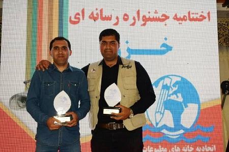 درخشش خبرنگاران آستارایی در جشنواره منطقه ای خزر