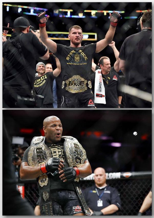 پیش نمایش رویداد یو اف سی 241 :   UFC 241: Cormier vs. Miocic 2+نظرسنجی