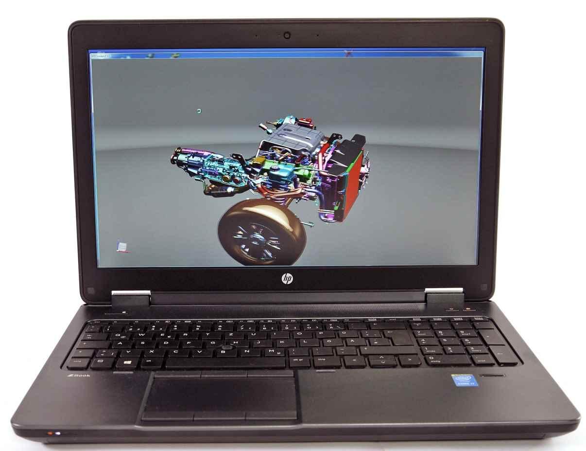 اچ پی / لپ تاپ استوک اچ پی مدل HP ZBOOK 15 G2 - i5 4330M-AMD R7 M200x