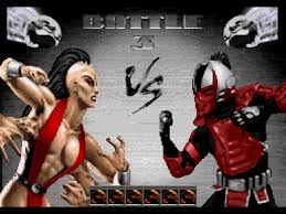 MORTAL KOMBAT FOR SEGA