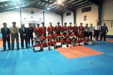 کونگ فوکاران مدال آور آستارا تجلیل شدند