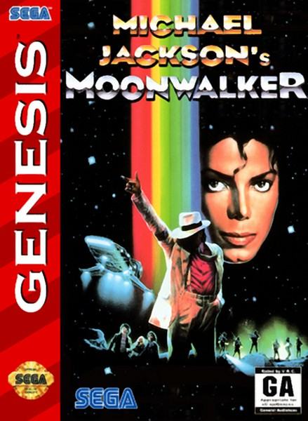 دانلود بازی مایکل جکسون سگا Michael Jackson's Moonwalker