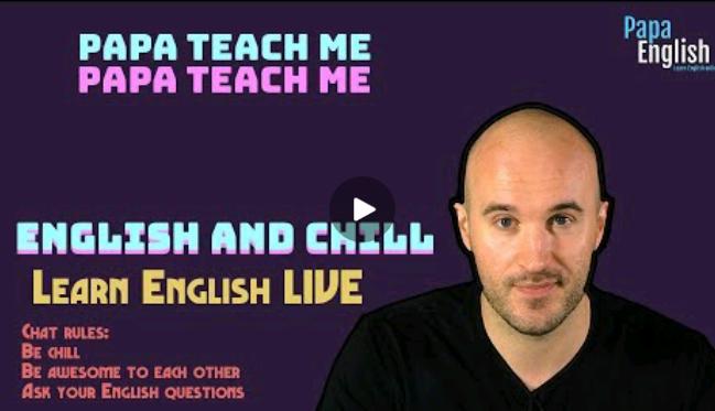 کلاس آنلاین انگلیسی  papa english