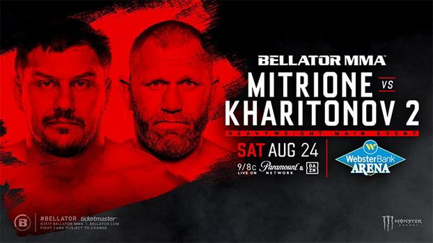 دانلود مسابقات بلاتور  225  Bellator 225: Mitrione vs. Kharitonov 2