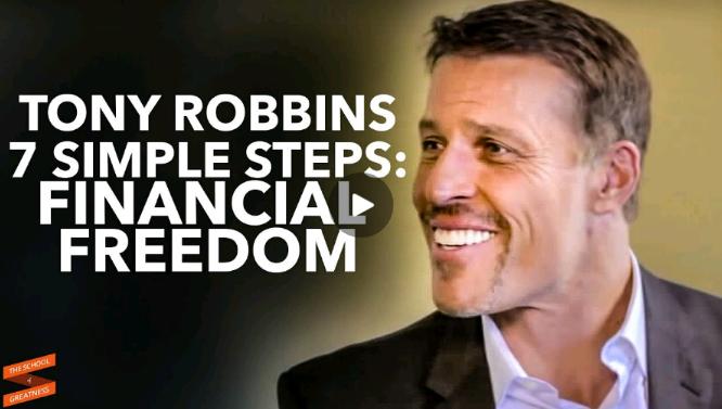 7 قدم ساده برای رسیدن به استقلال مالی (تونی رابینز)